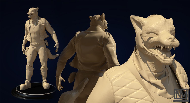 3d Character Development 3d Concept Artist Sculptor