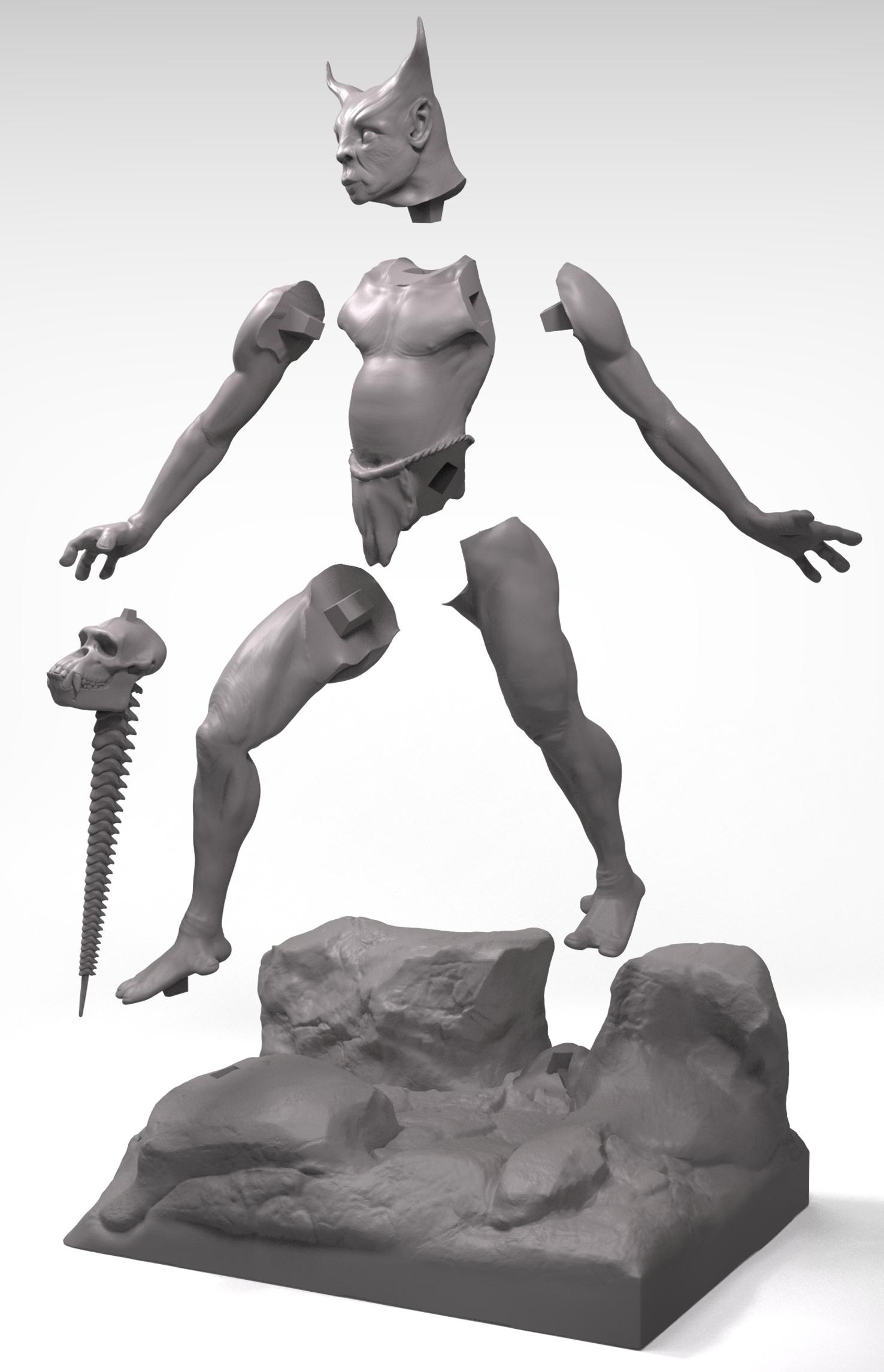 Artistic anatomy and sculpture – 3D Concept Artist & Sculptor